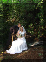 Outdoor wedding in the Smoky Mountains